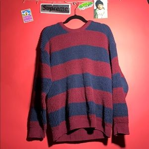 Kurt Cobain style vintage striped vintage sweater